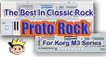 proto rock - new korg m3 sounds