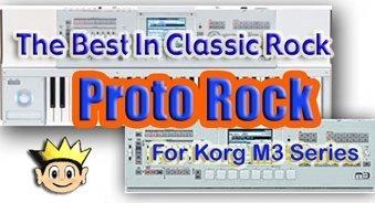 proto rock - new korg m3 sounds