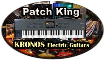 Korg Kronos Electric Guitars