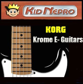 New Sounds For Korg Krome - V2 Electric Guitars