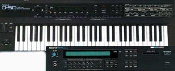 Roland D50, D550 Sounds